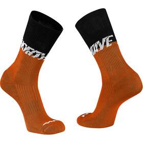 Northwave Edge Socks black/siena orange